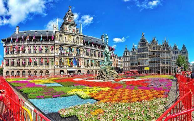 Антверпен, Бельгія