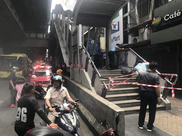 місце вибуху Бангкок