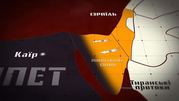 Єгипет мав не заважати ізраїльським кораблям проходити у Тиренські протоки
