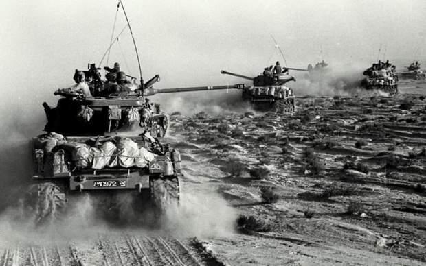 Ізраїльські танки у Шестиденній війні