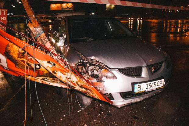 ДТП аварія Київ таксі