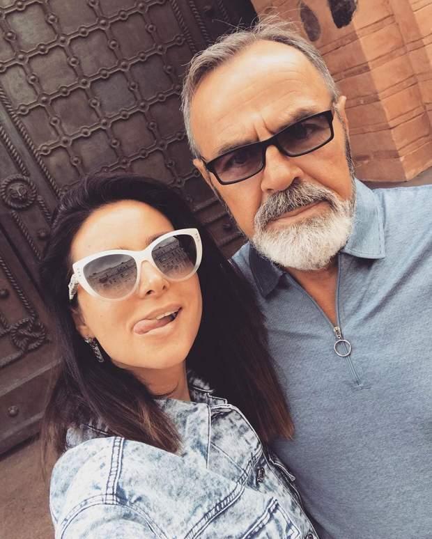 Злата Огневич і її батько Леонід Бордюг