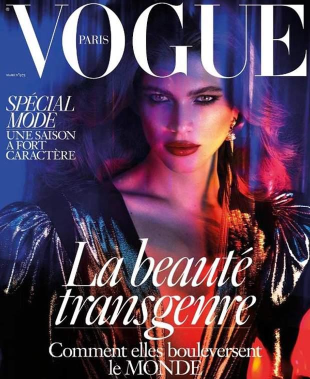 Обкладинка Vogue Paris з Валентиною Сампайо