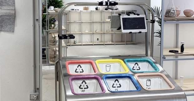 сортування сміття контейнер магазин Італія