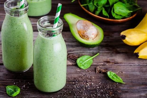 Рецепт приготування смузі з авокадо і шпинатом