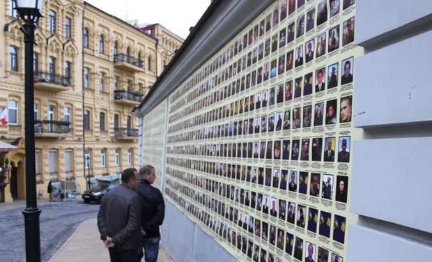 виставка памяті загиблих на війні
