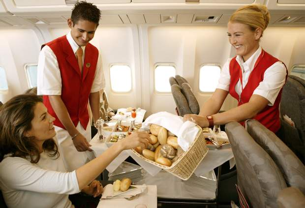 Їжа у літаку