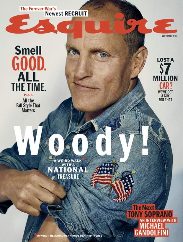 Вуді Харрельсон для Esquire