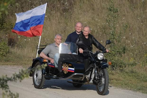 Путін байкер Крим