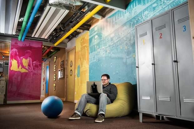 Офіс гугл Google Будапешт
