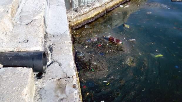 Забруднене Чорне море
