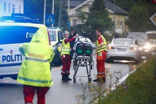 Норвегія теракт фото
