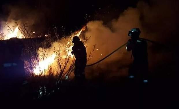 пожежа Гран Канарія Канарські острови
