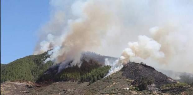 Гран Канарія пожежа