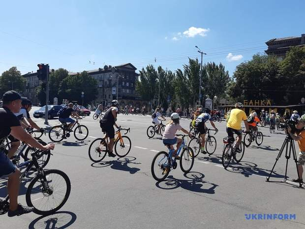 велопарад у запоріжжі