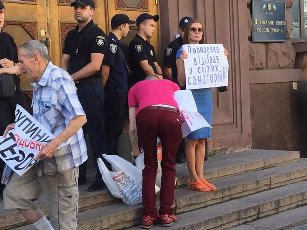порошенко допит дбр