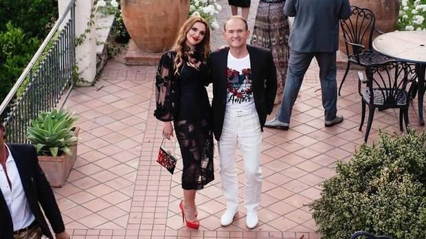 Віктор Медведчук з Оксаною Марченко