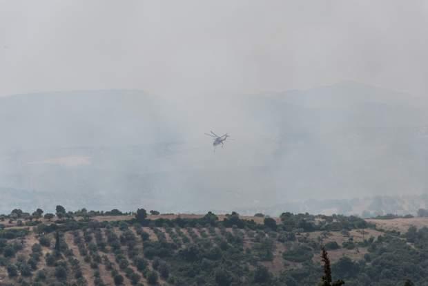 Греція пожежі
