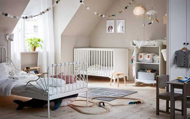 мансарда дитяча скандинавський стиль