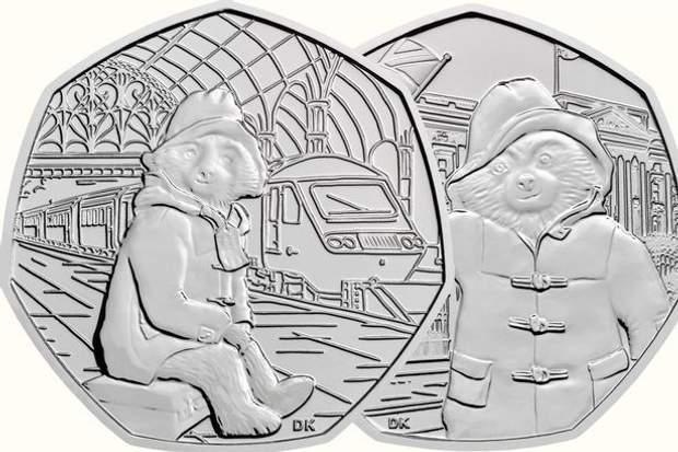 Монети з ведмедиком Паддінгтоном випустили у Великобританії: