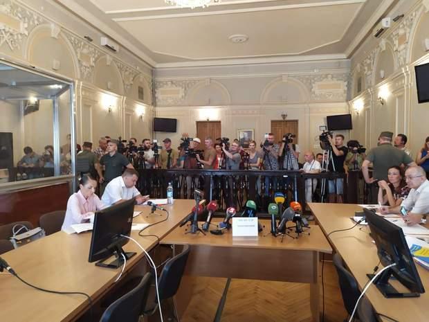 Засідання суду щодо Зайцевої та Дронова / Фото кореспондентки 24 каналу Анни Черненко