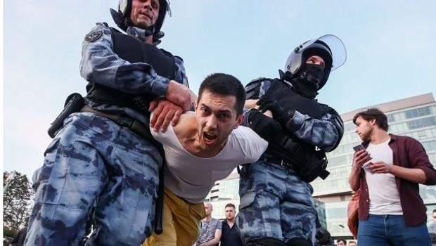мітинги в росії путин