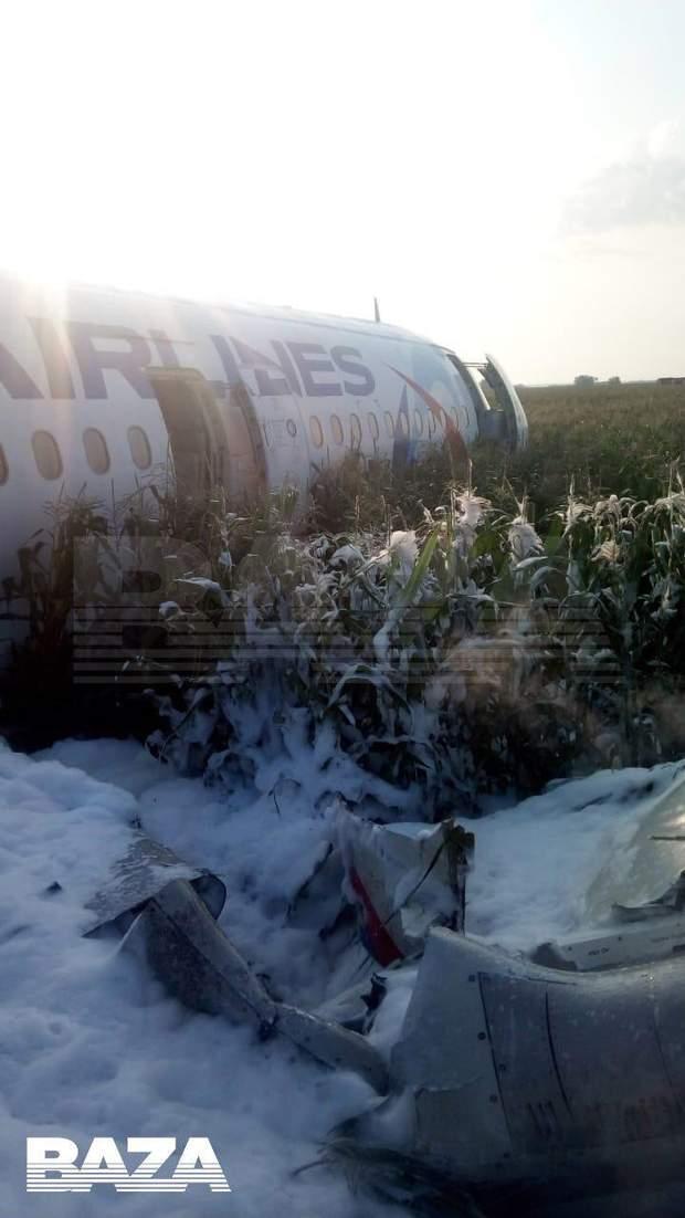 літак аварія Росія