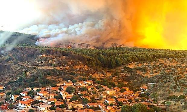 греція пожежа