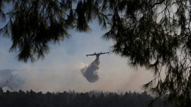 пожежа греція