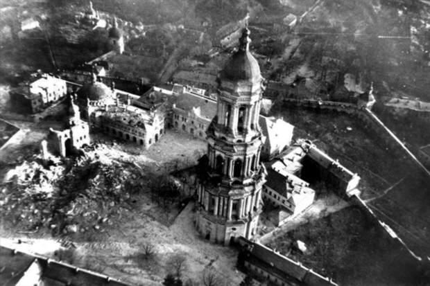 Зруйнований Успенський собор