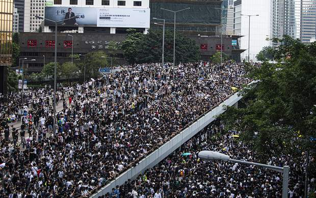 протест у гнконгу