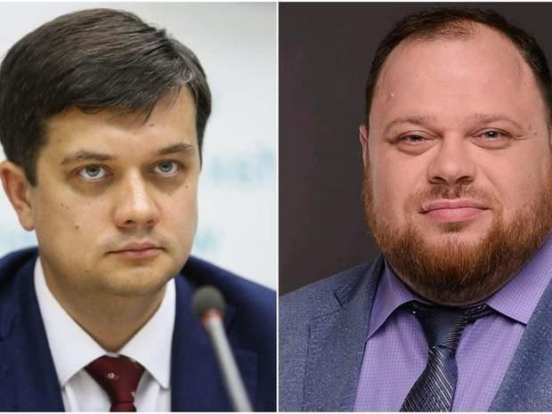 Разумков та Стефанчук