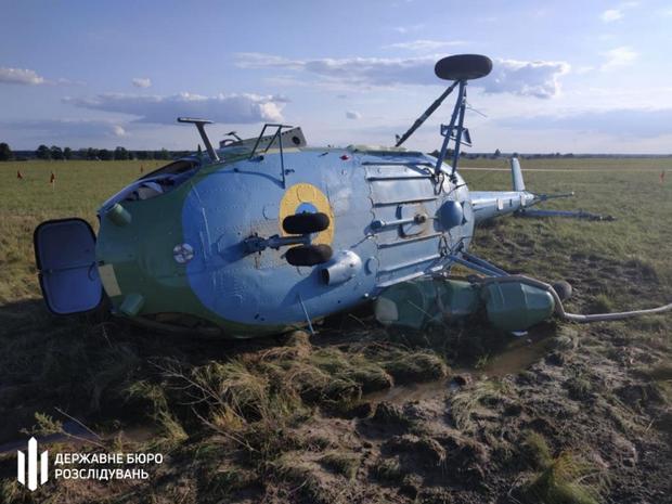 Вертоліт, Гелікоптер, Мі-2, Львівщина, Броди