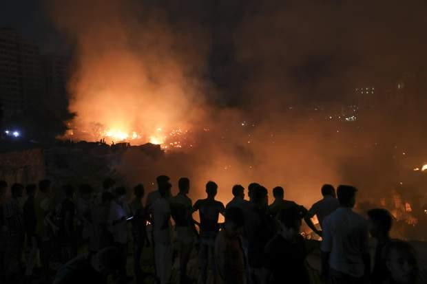пожежа бангладеш