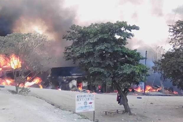 вибух бензовоза в Уганді