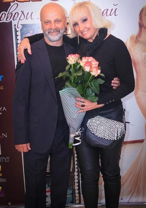 Ніна Кірсо з чоловіком