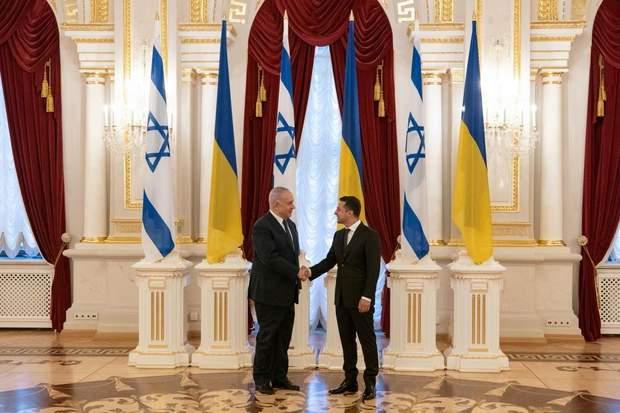 Зеленський і Нетаньяху, зустріч президента