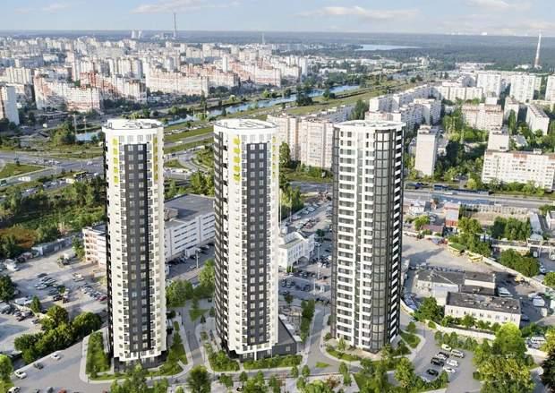 ЖК Райдужний Київ Київміськбуд проект