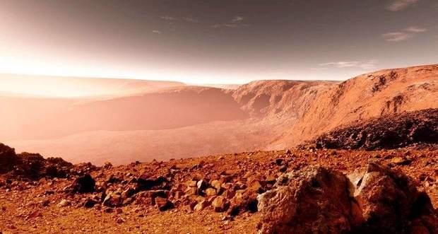 Марс называют Красной планетой