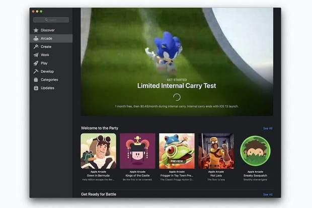 Apple тестує власний ігровий сервіс