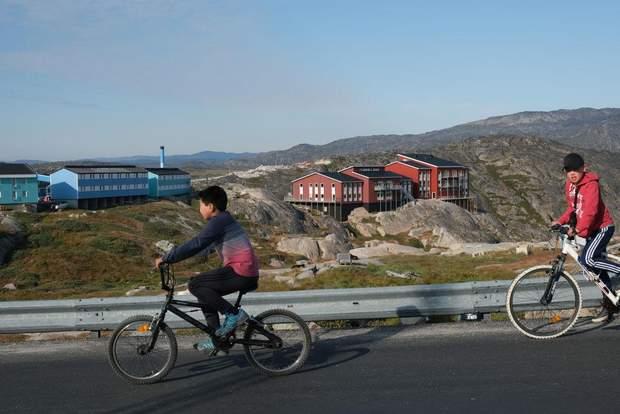 Гренландія глобальне потепління діти