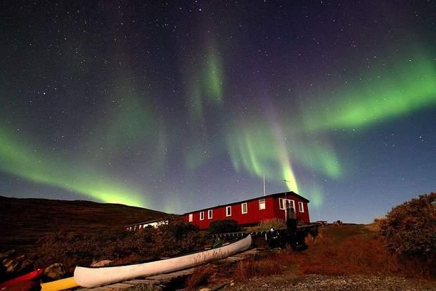 Гренландія північне сяйво