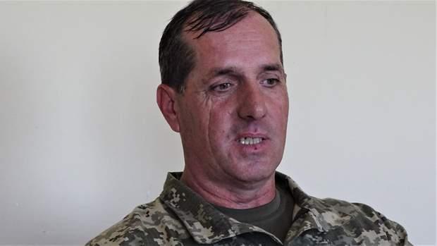командир взводу 28-ї окремої механізованої бригади Віктор Єгоров