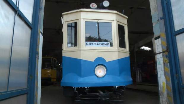 трамвай ретро львів