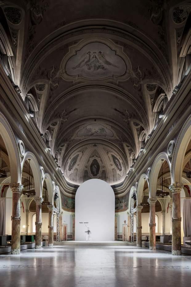 церква Сан-Франциско реконструкція Слава Балбек