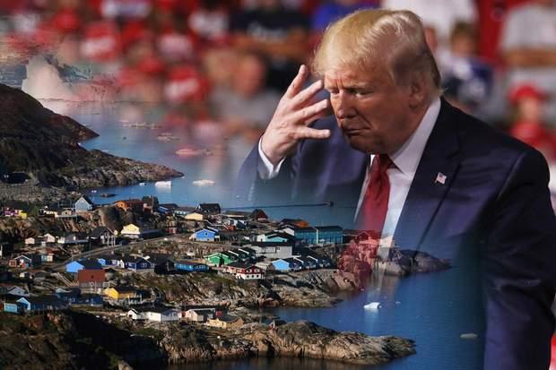 Трамп Гренландія покупка Данія США