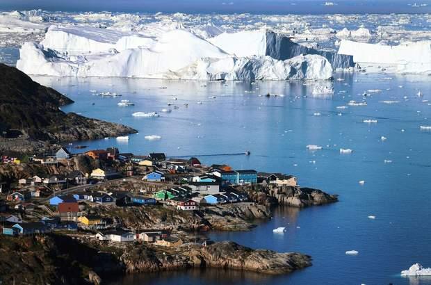Гренландія фото Трамп хоче купити Гренландію Данія