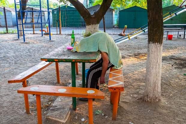У Києві помер чоловік облили зеленкою