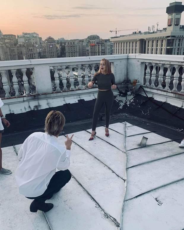 Алан Бадоєв і Тіна Кароль на репетиції до Дня Незалежності