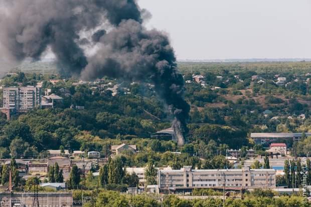 Харків пожежа склади